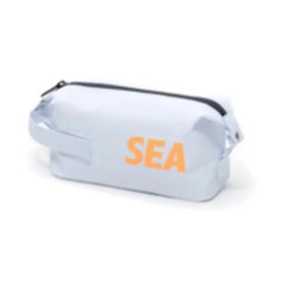 WIND AND SEA  DOPP KIT BAG SMALL WHITE