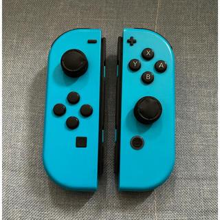 Nintendo Switch - 【ジャンク】Joy-Con ジョイコン ネオンブルー