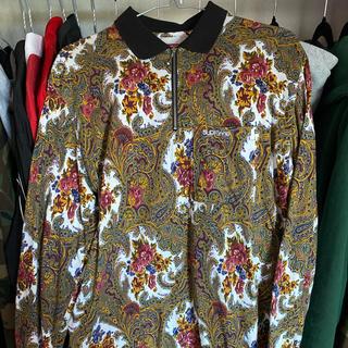 シュプリーム(Supreme)のSupreme 17FW Paisley L/S Polo(ポロシャツ)