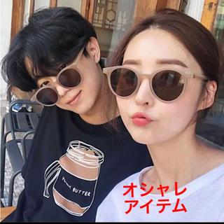 サングラス レディース ホワイト 韓国ファッション オルチャン インスタ 大人気(サングラス/メガネ)