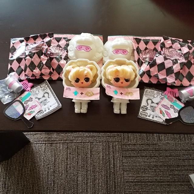 Takara Tomy(タカラトミー)のLOLサプライズ ヘアゴール ウップスベイビー エンタメ/ホビーのおもちゃ/ぬいぐるみ(キャラクターグッズ)の商品写真