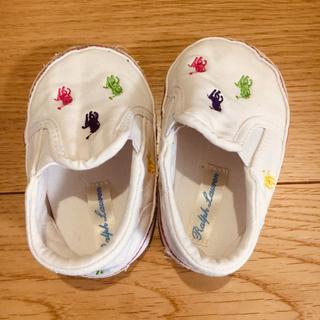 ポロラルフローレン(POLO RALPH LAUREN)のラルフローレン ベビー靴10.5(スリッポン)