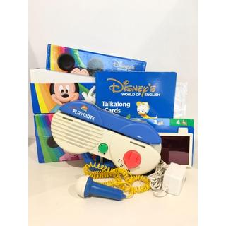Disney - 【キレイ!】2009年購入!ディズニー英語システム 両面デジタルトークアロング