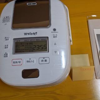 Panasonic - パナソニック 炊飯器 5.5合 可変圧力IH式 SR-PW109-W