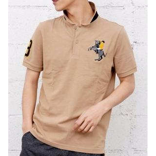 (新品) GIORDANO ポロシャツ 刺繍(ポロシャツ)