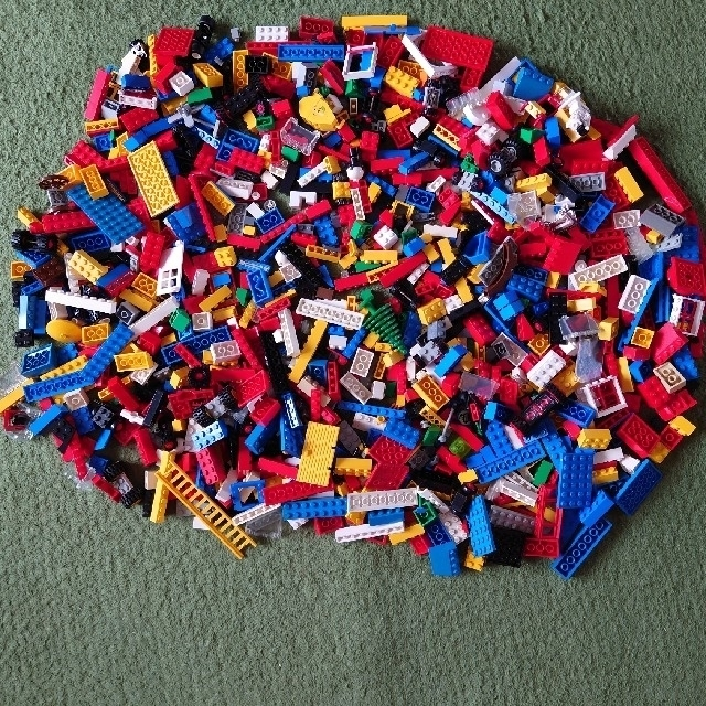レゴブロック キッズ/ベビー/マタニティのおもちゃ(積み木/ブロック)の商品写真