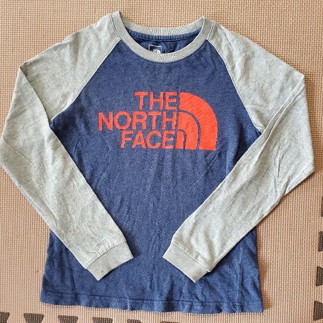 THE NORTH FACE(ザノースフェイス)のロンティー トップス 130 キッズ/ベビー/マタニティのキッズ服男の子用(90cm~)(Tシャツ/カットソー)の商品写真