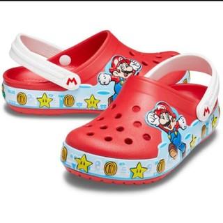 crocs - 【新品・未使用】クロックス☆スーパーマリオ☆光るサンダル☆サイズ18cm