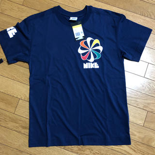 NIKE - NIKE 風車ロゴ Tシャツ ネイビー S