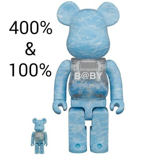 MEDICOM TOY - MY FIRST BE@RBRICK B@BY WATER CREST