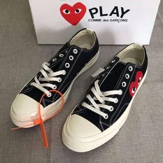 CDG Play x Converse 布靴 カップル 男女兼用   新品