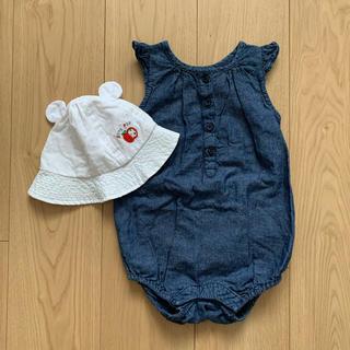 babyGAP - ロンパース 帽子セット
