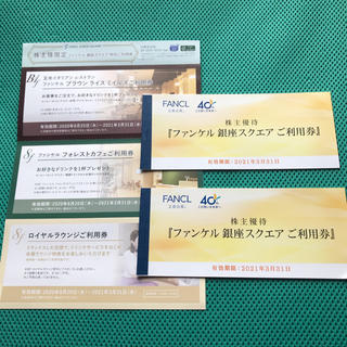 ファンケル(FANCL)のりんりん様専用 ファンケル 株主優待 6000円分+特別ご利用券(その他)