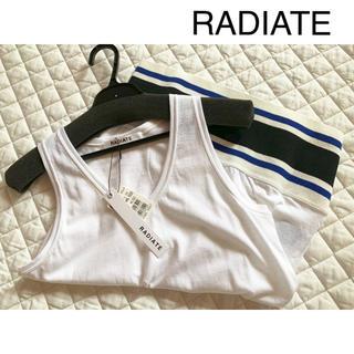 スコットクラブ(SCOT CLUB)のRADIATE お洒落 タンクトップ 日本製 ラディエイト(タンクトップ)