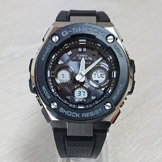 ジーショック(G-SHOCK)の美品【CASIO/G-SHOCK】電波ソーラ メンズ腕時計 GST-W300(腕時計(デジタル))