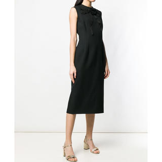 Gucci - グッチ ドレス ワンピース リボン ブラック 黒 36