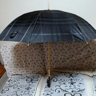 バーバリー(BURBERRY)の↓BURBERRY バーバリー傘 メンズ、レディス用 とても綺麗 布もしっかり(傘)