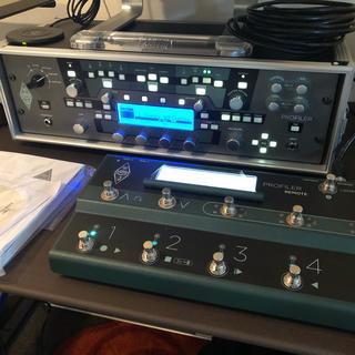 Kemper Profiling Power Rack + REMOTE+ラック