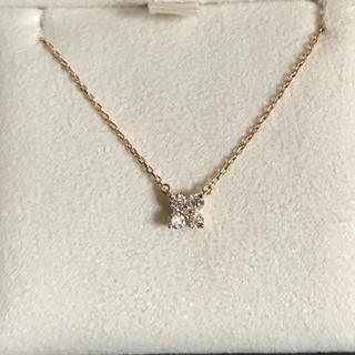 ヴァンドームアオヤマ(Vendome Aoyama)の限定値下 ヴァンドーム青山 ダイヤモンド カローラ ネックレス K18 ゴールド(ネックレス)