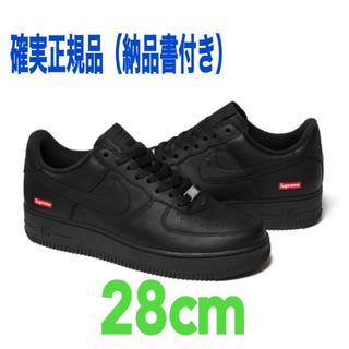 Supreme - Supreme Nike Air Force 1 Low Black 28cm