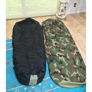 スノーピーク(Snow Peak)の米軍 スリーピングバッグ 寝袋 モジューラ ゴアテックス(寝袋/寝具)