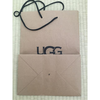 UGG - アグ UGG  ショップ袋(やや傷)