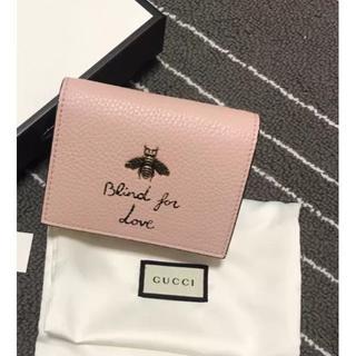 Gucci - グッチ GUCCI アニマリエ 蜂 ビー 二つ折財布