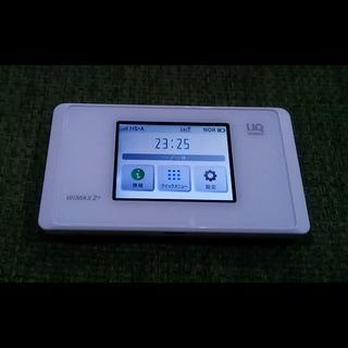 SIMフリー版美品!WiMAX2+ モバイルWi-Fiルーター WX05!