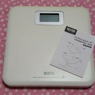 タニタ(TANITA)のタニタ 体重計 金曜日までの出品です。(体重計)