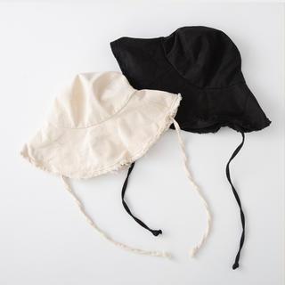 SeaRoomlynn - SeaRoomlynn LONG STRAP BUCKET HAT BLACK