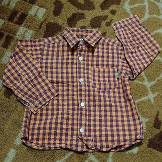エーアーベー(eaB)のエーアーベー チェックシャツ 95(ブラウス)