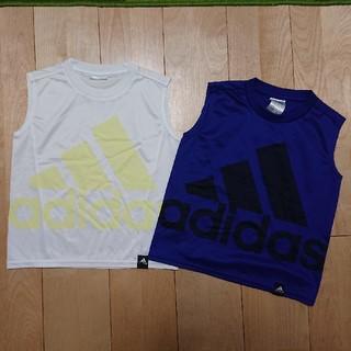 アディダス(adidas)のアディダス タンクトップ  2枚セット(Tシャツ/カットソー)