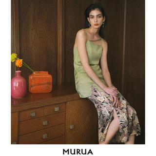 MURUA - ムルーア MURUA キャミワンピース モデル着用同タイプ サイズfree