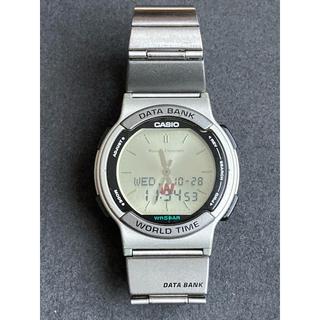 カシオ(CASIO)のカシオ データバンク WORLD TIME(腕時計(デジタル))