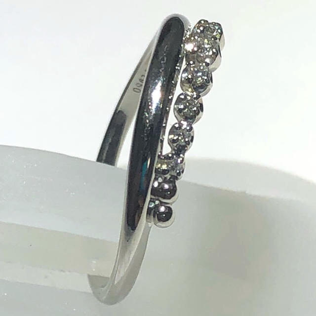 Vendome Aoyama(ヴァンドームアオヤマ)の☆ ヴァンドーム青山 ダイヤモンドリング ☆ vendome 指輪 pt950 レディースのアクセサリー(リング(指輪))の商品写真