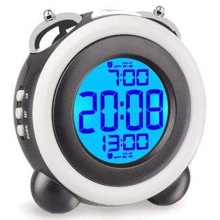 LCD デジタル時計(置時計)