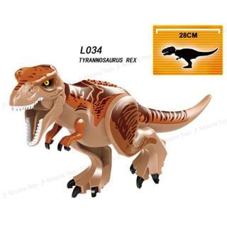LEGO レゴ 互換 恐竜 ビッグサイズ ティラノサウルス ジュラシックワールド
