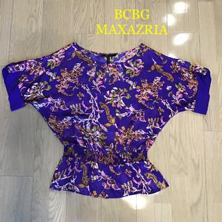ビーシービージーマックスアズリア(BCBGMAXAZRIA)のBCBG MAXAZRIA 新品・未使用(カットソー(半袖/袖なし))