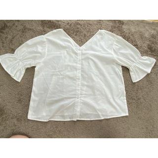 アルピーエス(rps)の2way白ブラウス(シャツ/ブラウス(半袖/袖なし))