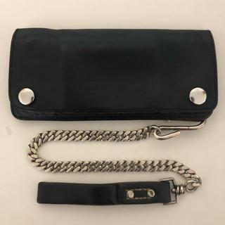 テンダーロイン(TENDERLOIN)のTENDERLOIN テンダーロイン 財布 ウォレットチェーン ホースハイド(長財布)