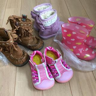 靴 4足まとめ売り 14 14.5 15 女の子(その他)