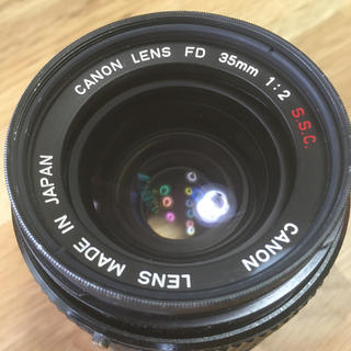 Canon - Canon FD 35mm f2 S.S.C 完全ジャンク品