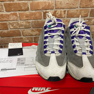 NIKE - NIKE AIR MAX 95 grape サイズ26.5cm