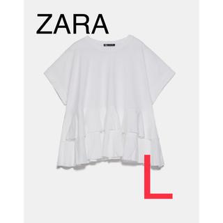 ZARA - ZARA ザラ 新品 フリルT  L
