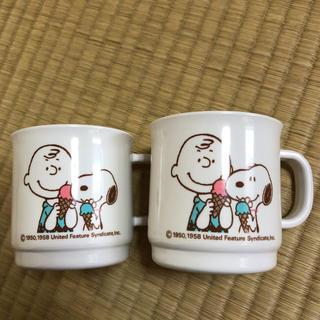 スヌーピー マグカップ 昭和レトロ