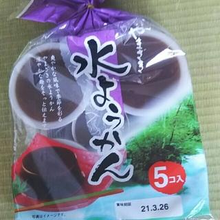 ヤマザキセイパン(山崎製パン)の水羊羮  やまざき(菓子/デザート)