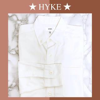 HYKE - ハイク KYKE 白シャツ シャツ コットン【美品】1 S ホワイト