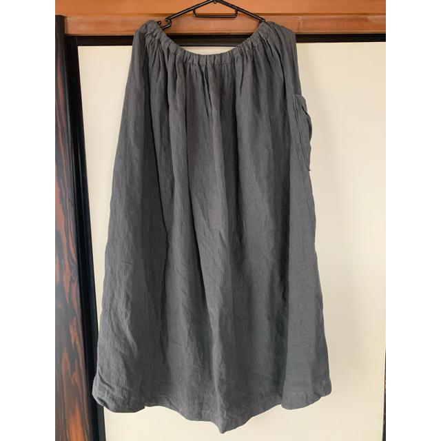 nest Robe(ネストローブ)のネストローブ リネン ロングマキシスカート レディースのスカート(ロングスカート)の商品写真