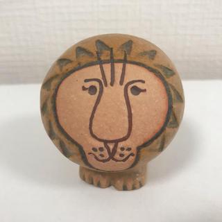 リサラーソン(Lisa Larson)のLisa Larson / リサ・ラーソン LION  ライオン ミニ 陶器(置物)