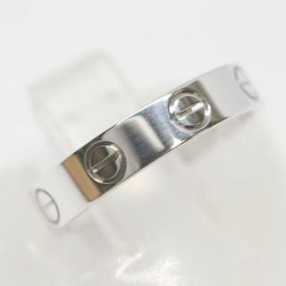 カルティエ(Cartier)の磨き済 カルティエ ミニラブリング K18 3.2g 9号 指輪(リング(指輪))